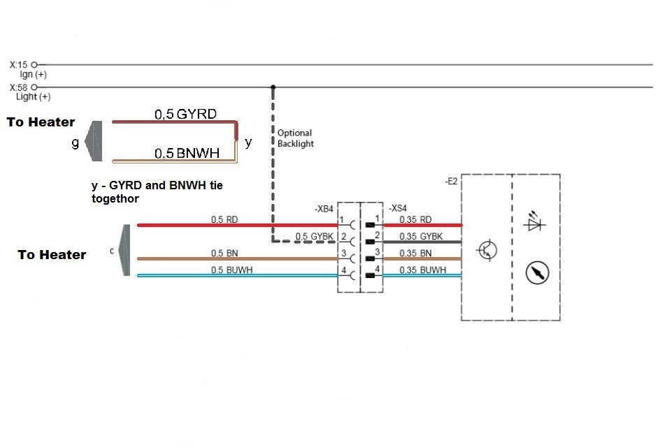webasto power schematic